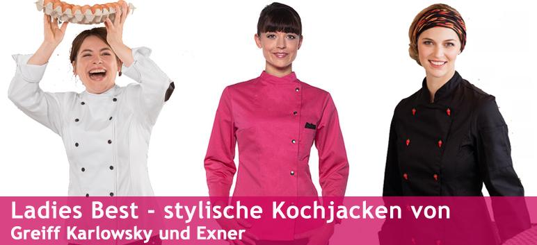 Damen-Kochjacke Damenkochjacken