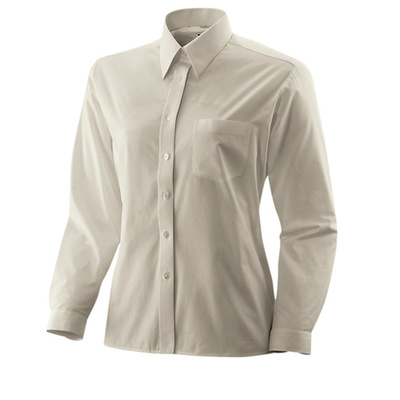 Bluse langarm Fb Modell 450  60% Baumwolle, 40% Polyester sand 48