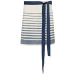 Canvasschürze Modell 145 75x45cm white/navy stripes
