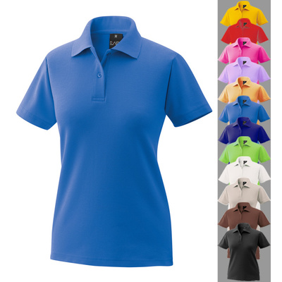Damen Poloshirt Polo Shirt royal blau M